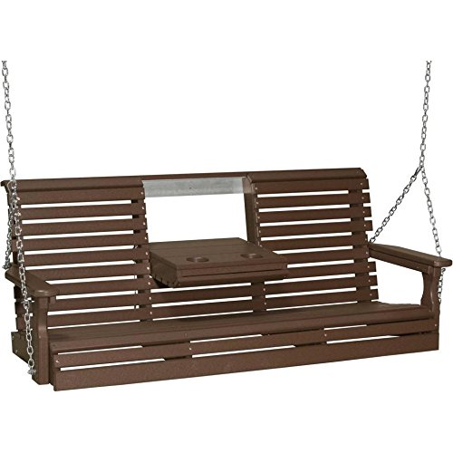 LuxCraft Rollback 5ft Recycled Plastic Porch Swing Review