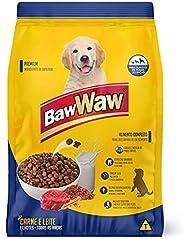 Ração Baw Waw para cães filhotes sabor Carne e Leite 1kg