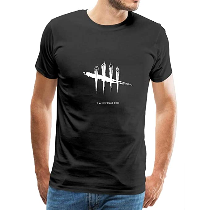 d5a965dc Men Cotton Tee Shirt,Dead by Daylight T-Shirt Polo Shirts Short Sleeve  Tops: Amazon.co.uk: Clothing