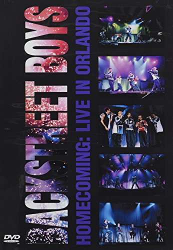 DVD : Backstreet Boys - Backstreet Boys: Homecoming: Live in Orlando (DVD)