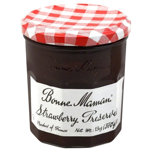 Bonne Maman Preserves Strawberry 13 oz (Pack of 2)