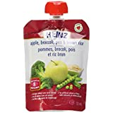 HEINZ Junior - Apple, Broccoli, Pea & Brown Rice Pouch, 6 Pack, 128ML Each