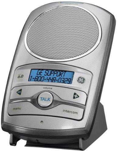 General Electric DECT 6.0 2-Way Wireless Speakerphone Intercom Accessory (Silver), (2 Way Speakerphone)