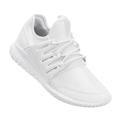 size 40 b3461 53912 Amazon.com | adidas Tubular Radial K #S75008 | Running