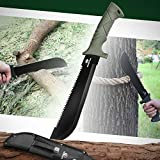 Mossy Oak Axe and Fixed Blade Knife with