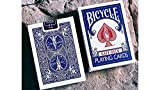 MJM Bicycle Gaff Rider Back V2 (Blue) Playing Cards by Bocopo