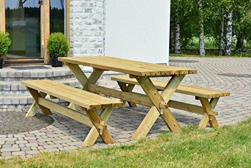 Alwo Tisch Bank Garnitur Gartengarnitur Gartenmöbel Sitzgruppe ...