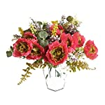Artfen-3-Bouquet-Country-Style-Artificial-Tea-Rose-Fake-Camellia-Lu-Lotus-Flower-Bouquet-Party-Home-Decor-Approx-115-High-Pink
