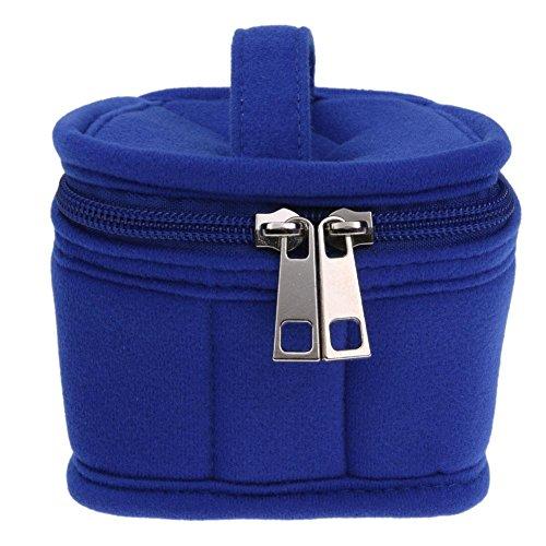 Domybest - Bolso al hombro de Terciopelo para mujer talla única 9 Lattices Blue