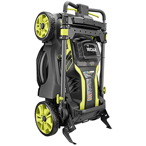Ryobi. 20 RY40190 40-Volt Brushless Lithium-Ion Cordless Battery Self Propelled Lawn Mower