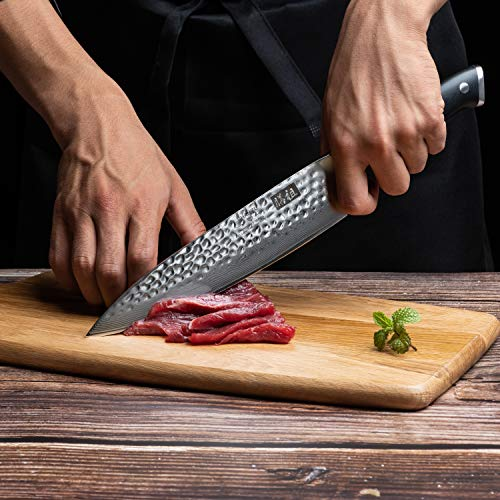 SHAN ZU Coltello di Damasco Coltello da Chef Giapponese