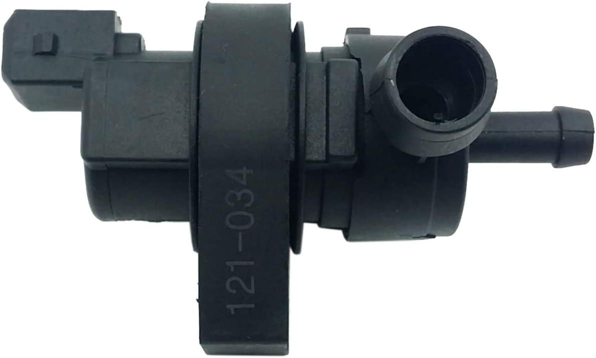 RETYLY New Black Canister Purge Valve Fit for E38 E39 E46 13901433603