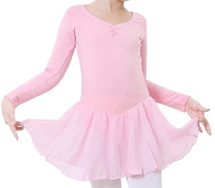 Happy Cherry - Traje de Baile Vestido Tutú de Ballet Falda Corta ...