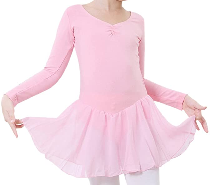 Falda Ballet Leotarto Para Tutú De Traje Vestido Niñas Gimnasia Danza Maillot Cherry Happy aSqzIZx