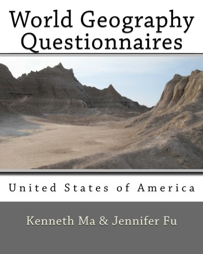 World Geography Questionnaires: United States of America (Volume 7)