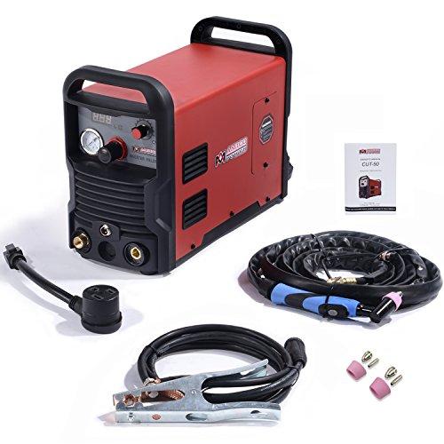 CUT-50 Amp Plasma Cutter DC Inverter 110/230V Dual Voltage Cutting Machine New