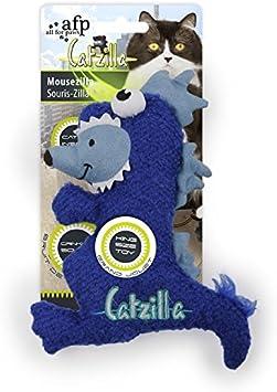 All for Paws Catzilla Mousezilla - Juguete para Gato (19 cm)