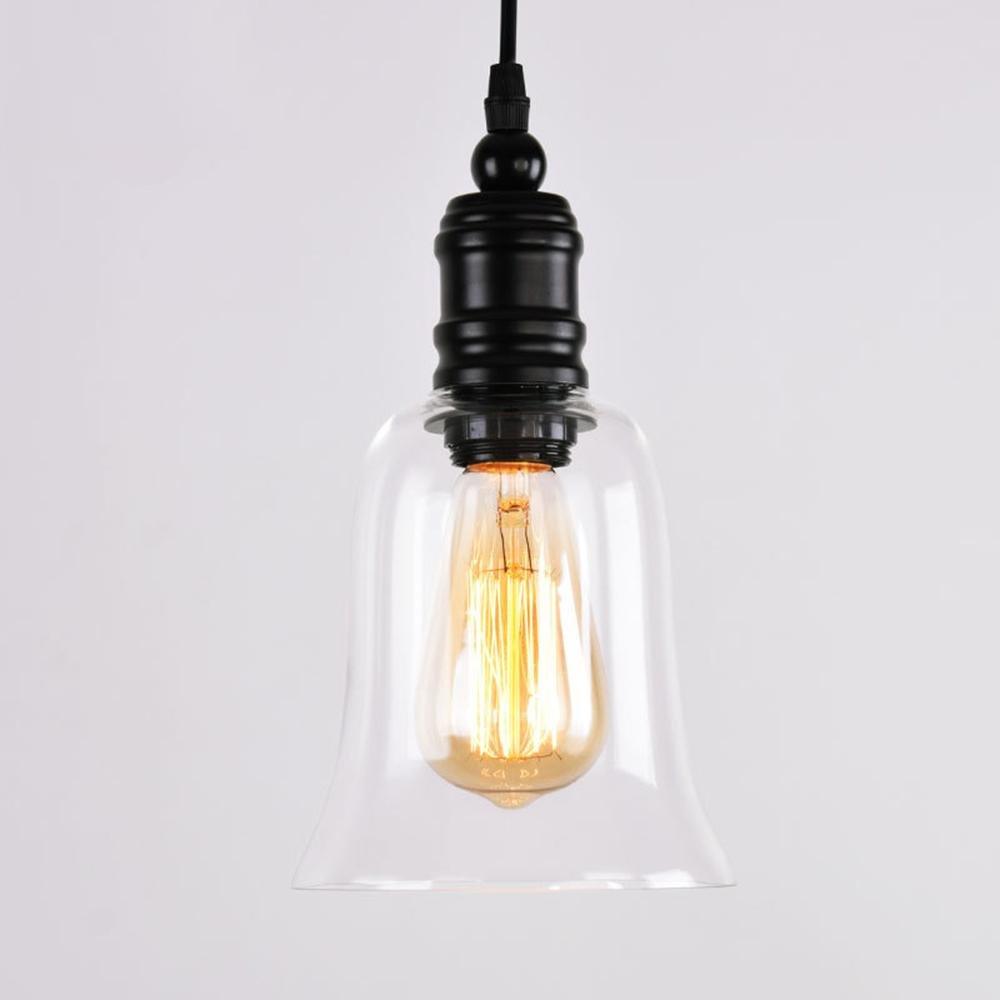 [YIKUI] Nordeuropa Moderne Einfache Led Kronleuchter Kreative Glas Einzelkopf Eisen Kunst Kronleuchter Wohnzimmer Restaurant Lampen Beleuchtung Beleuchtung, a