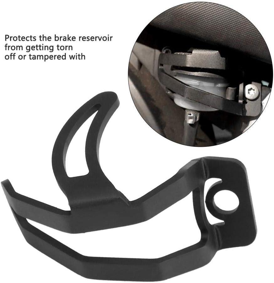 Akozon Brake Reservoir Guard Cache de protection de r/éservoir de frein arri/ère pour Fit for R1200GS 2008-2012//pour R nine T 2014-2017