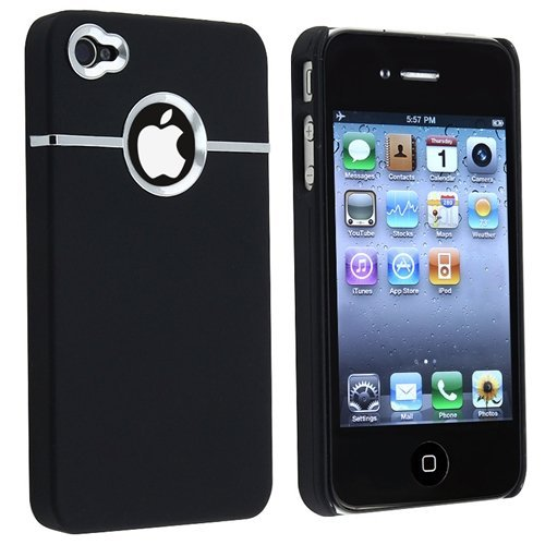 at t iphone 5 on verizon deluxe black cover w chrome for iphone 4 4g 4s at amp t 6089