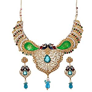 Mela Party Wear Jewelry Set - 3 Pieces, NS14