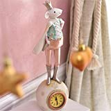 Creative living room bedroom room bedside cabinet clock sitting bell ornaments, 10.5 30CM