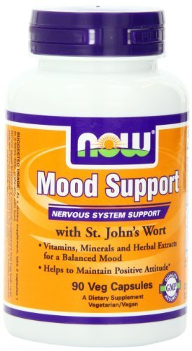 Now Foods Mood Support With St Johns Wort Veg-capsules, 360-Count