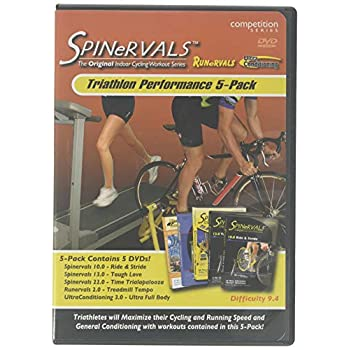 Image of Arts & Entertainment Spinervals Triathlon Performance 5-Pack DVD