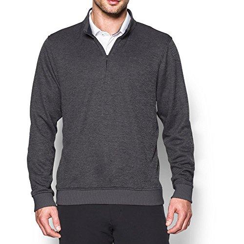 Under Armour Men's Storm Fleece QZ Sweater, Carbon Heather, Large ()