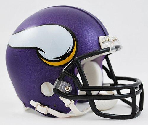 New Riddell Minnesota Vikings VSR4 Mini Football Helmet