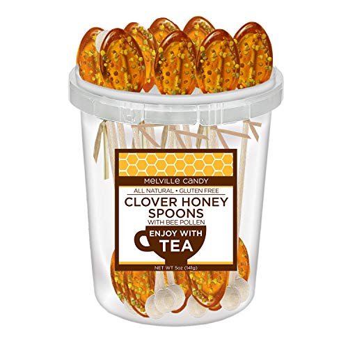 Bee Pollen Honey Spoon (30 Count) by Melville Candy (Image #3)