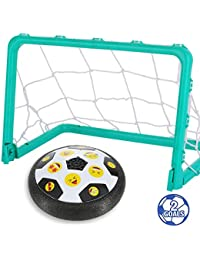 Kids Toys Hover Emoji Soccer Ball Set with 2 Goals Gift...