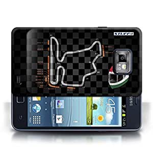 STUFF4 Phone Case / Cover for Samsung Galaxy S2/SII / Hungary/Budapest Design / 2014 F1 Track Collection