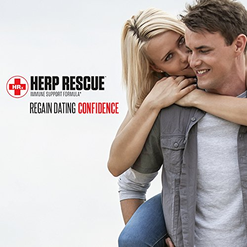 HERP RESCUE #1 Best formula to clear skin FAST of Herpes, Cold Sores, and Shingles. Full 30 Day Supply l Lysine, Zinc, Vitamin C, Oregano Oil, 120 Capsules