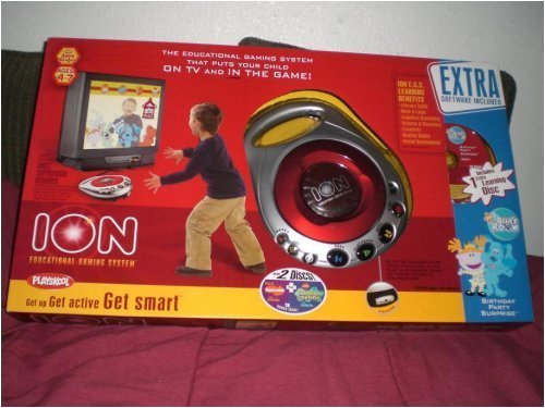 Playskool Ion Educational Gaming System with 3 Discs - Best of Nickelodeon, SpongeBob Squarepants & Blues Clues Blue's Room Birthday Party Surprise by Playskool