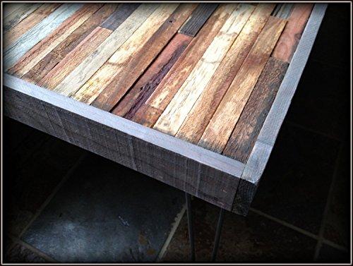 Amazon com  25  OFF SALE   48 x24  Barn wood Coffee Table with Hairpin Legs    Industrial Furniture   Modern Reclaimed Barn Wood in Beautiful Mosaic. Amazon com  25  OFF SALE   48 x24  Barn wood Coffee Table with