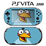 Decorative Video Game Skin Decal Cover Sticker for Sony PlayStation PS Vita Slim (PCH-2000) - Angry Blue Bird