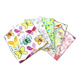 Happy Meadow Cotton Fat Quarters 5 Pack | Fabric Editions HM01