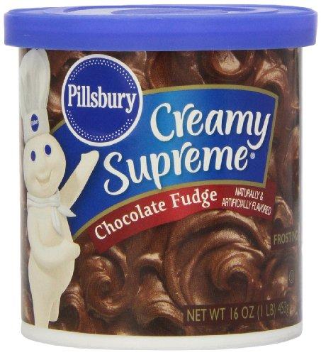 Pillsbury Chocolate Fudge Frosting - 16 oz
