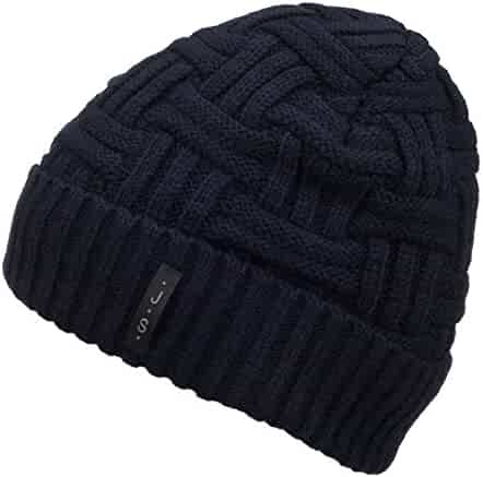 0a1afffe597 Spikerking Mens Winter Knitting Wool Warm Hat Daily Slouchy Hats Beanie  Skull Cap