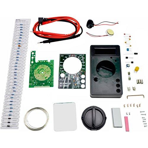 Elenco M-1008K - Digital Multimeter Solder Kit | Lead Free Solder | Great STEM Project | Soldering Required by Elenco (Image #1)