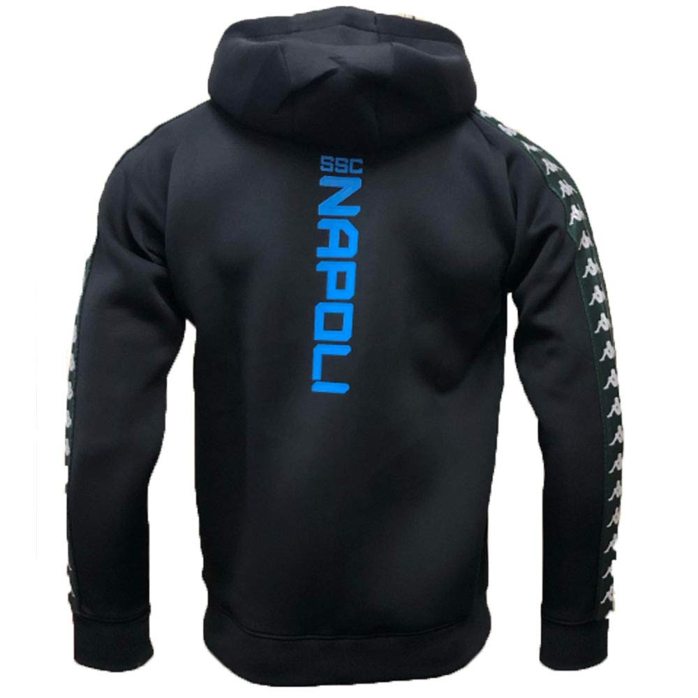 8e9df237d6a Amazon.com : Kappa SSC Napoli Fleece Full Zip Navy Jacket in Neoprene  2018-2019 Original : Clothing