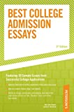 Best College Admission Essays, Scott Stewart, 0768917298
