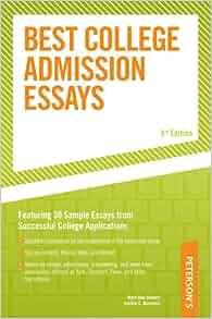 sample application essay