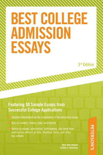 Best College Admission Essays (Peterson's Best College Admission Essays)