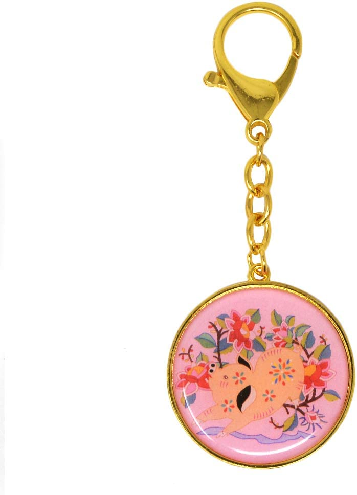 Boar Feng Shui 12 Animal Sign Wish Amulet W3785