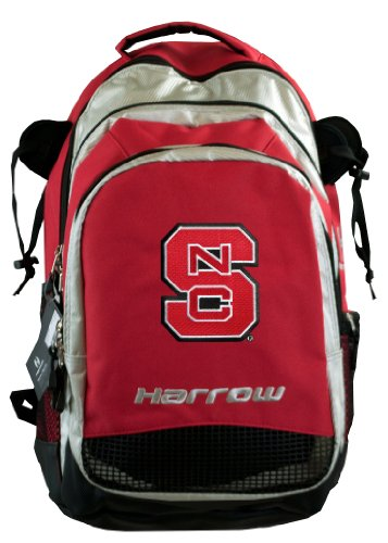 (Broad Bay NC State Harrow Field Hockey Backpack NC State Wolfpack Hockey Gear Bag Red)