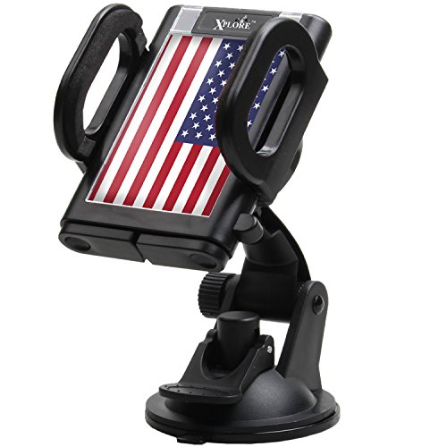 Insert Footrest (Xplore 4-in-1 Windshield / Dashboard / Air Vent Universal Car Phone Mount Holder)