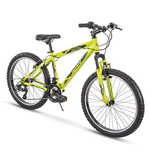 Huffy Hardtail Mountain Trail Bike 24 inch, 26 inch, 27.5 inch (Terrain Bicycle Aluminum All)