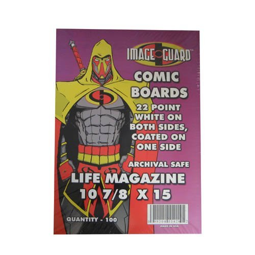 Image Guard Comic Backing Boards Life Magazine Size